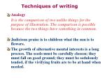 techniques of writing31
