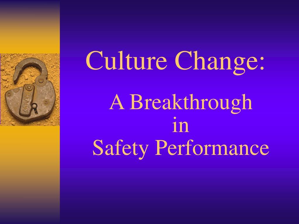 culture change l.