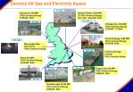 centrica uk gas and electricity assets