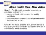 alcon health plan new vision