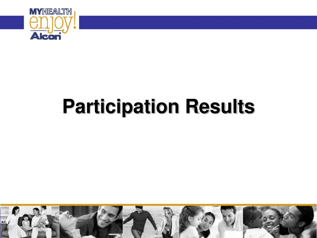 Participation Results