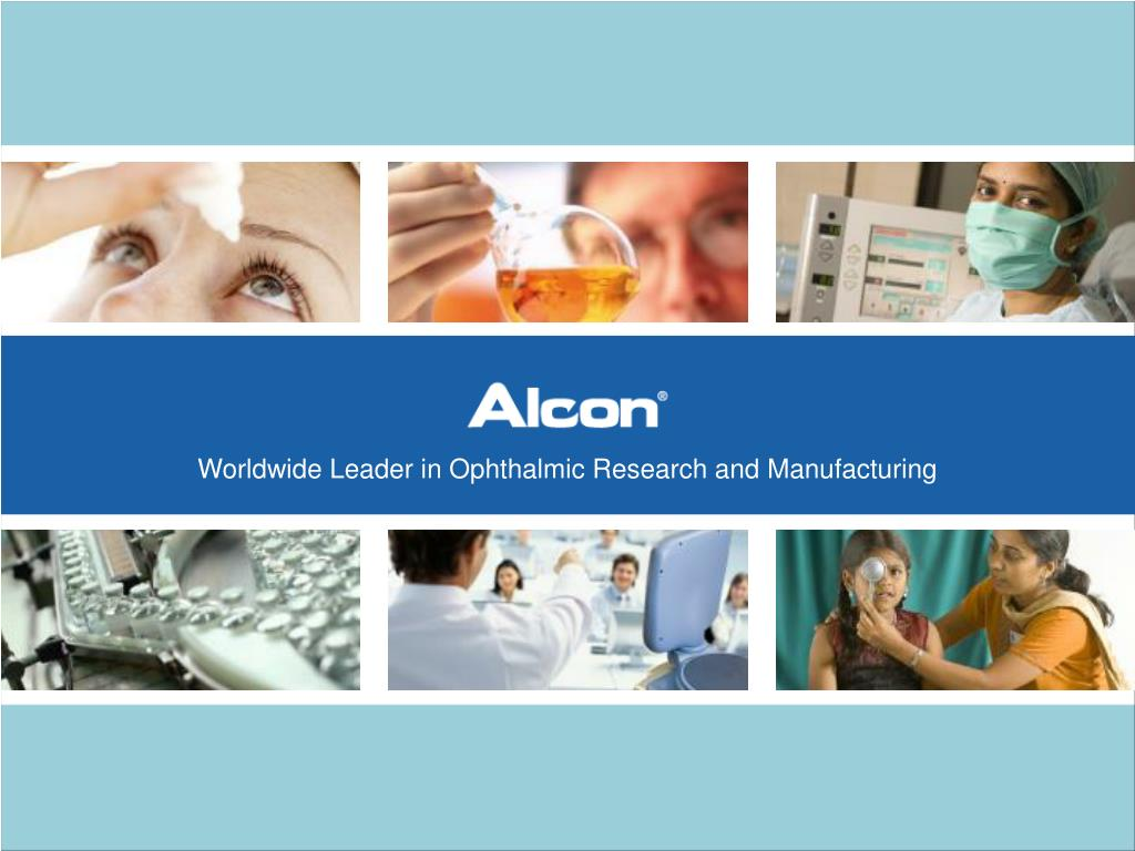 Worldwide Leader in Ophthalmic Research and Manufacturing