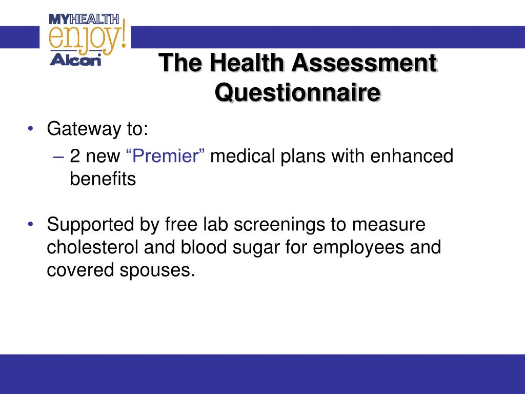 The Health Assessment Questionnaire