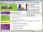 mcir org mcirdata html