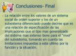 conclusiones final