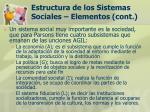 estructura de los sistemas sociales elementos cont18
