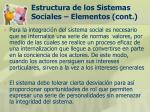 estructura de los sistemas sociales elementos cont21
