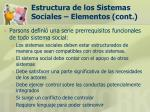 estructura de los sistemas sociales elementos cont22