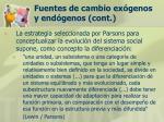 fuentes de cambio ex genos y end genos cont29