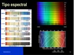 tipo espectral