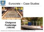 eurocrete case studies