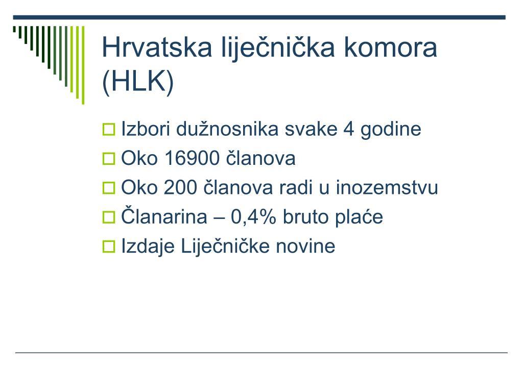 Hrvatska liječnička komora (HLK)