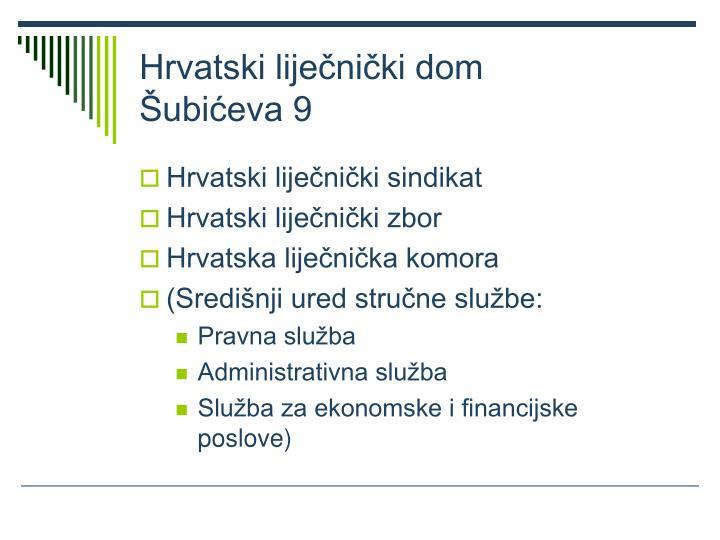 Hrvatski lije ni ki dom ubi eva 9