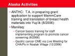 alaska activities