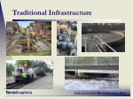 traditional infrastructure