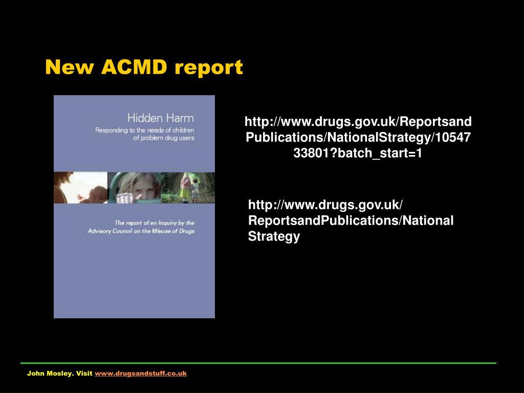 new acmd report l.