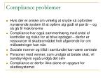 compliance problemer16