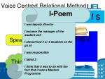 voice centred relational method15