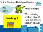 voice centred relational method16