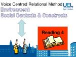 voice centred relational method17