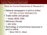tools for current awareness research ii
