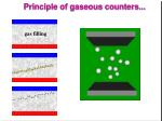 principle of gaseous counters19