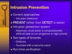 intrusion prevention