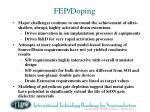 fep doping