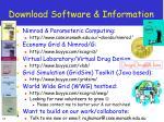 download software information