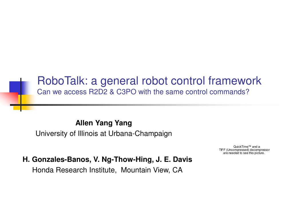 robotalk a general robot control framework can we access r2d2 c3po with the same control commands l.