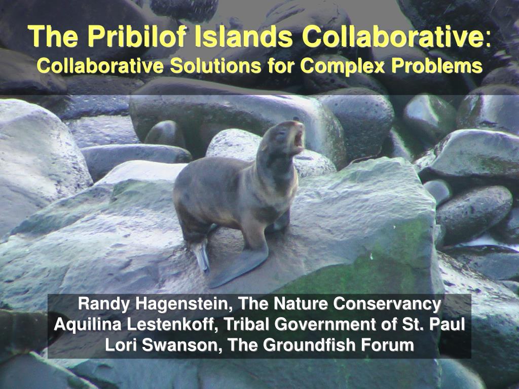 the pribilof islands collaborative collaborative solutions for complex problems l.