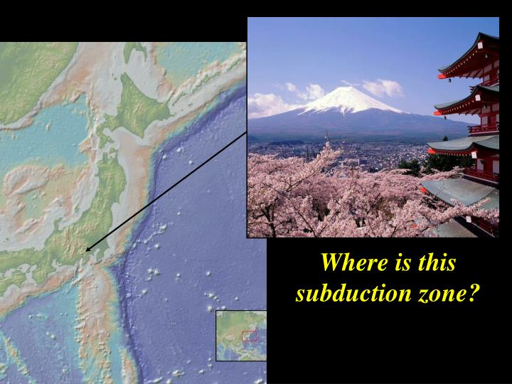 Where is this subduction zone?