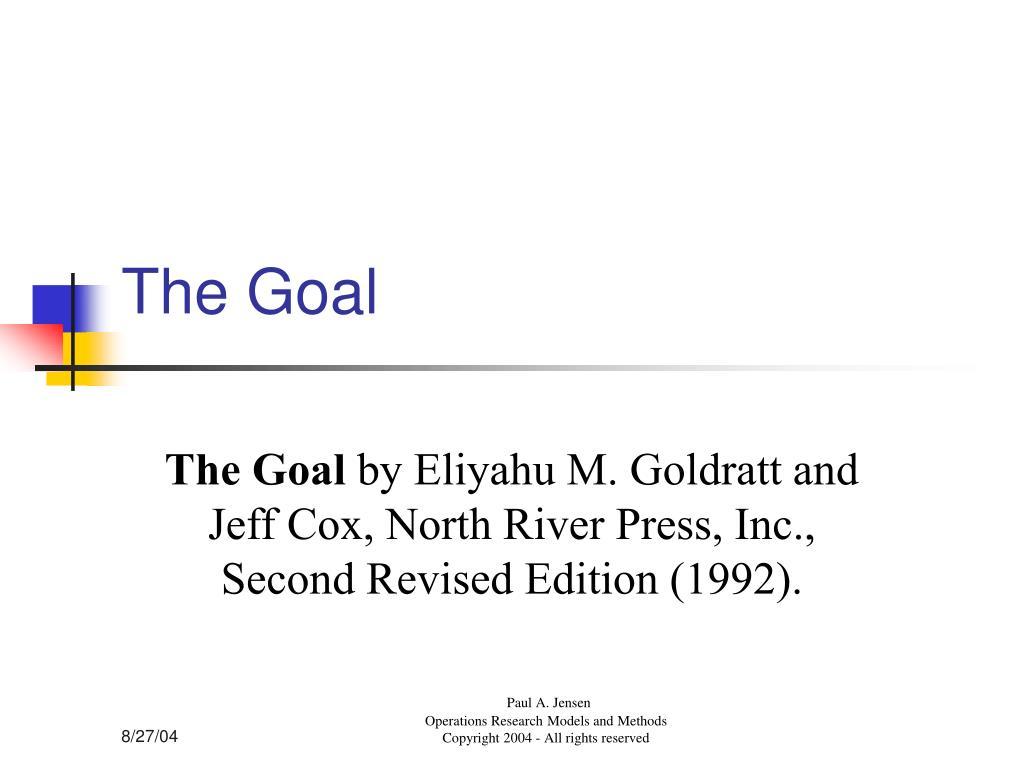 the goal l.