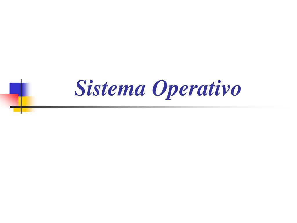 sistema operativo l.