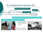 el complemento indirecto ci44