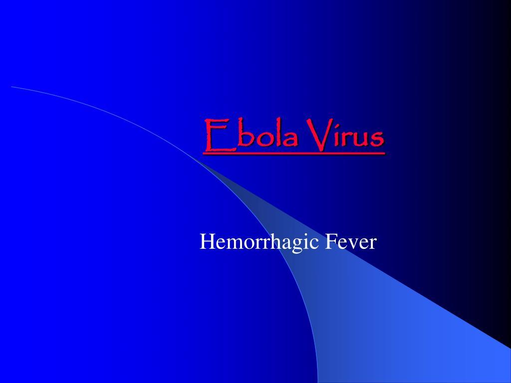 ebola virus l.