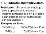 1 iu instanciaci n universal88