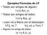 ejemplos f rmulas de lp
