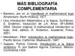 m s bibliograf a complementaria