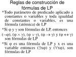 reglas de construcci n de f rmulas de lp