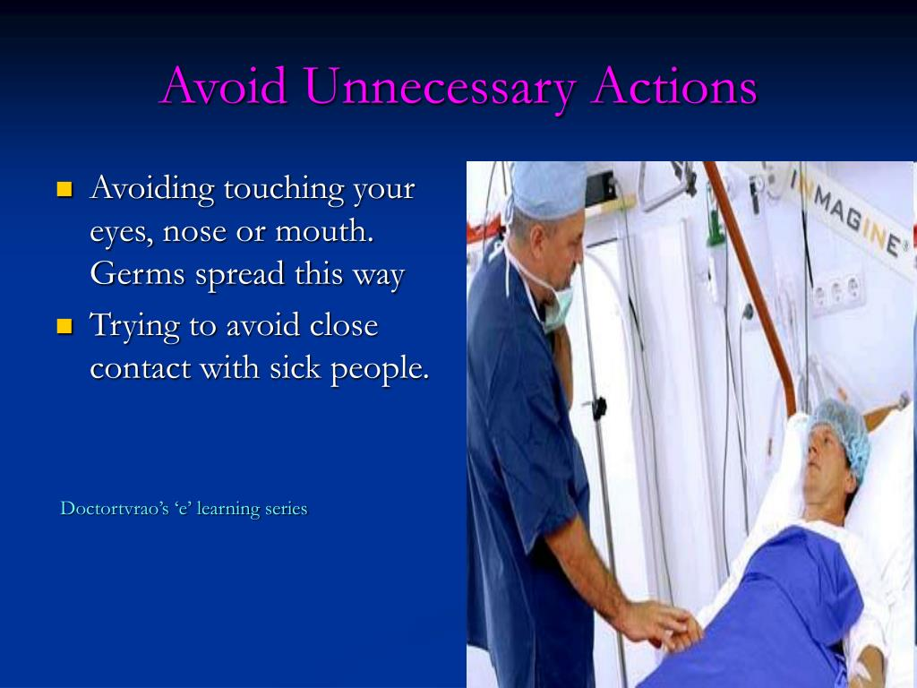 Avoid Unnecessary Actions