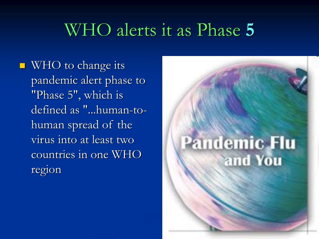 WHO alerts it as Phase