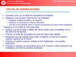oficial de comunicaciones
