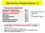 d marche diagnostique 1