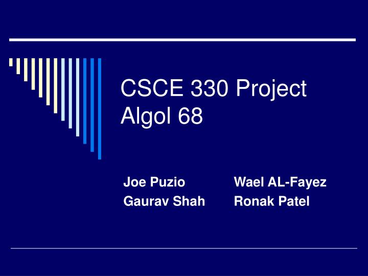 csce 330 project algol 68 n.