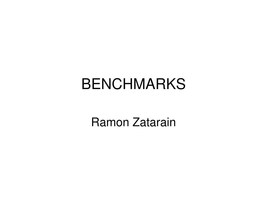 benchmarks l.