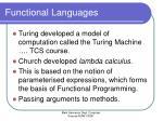 functional languages9
