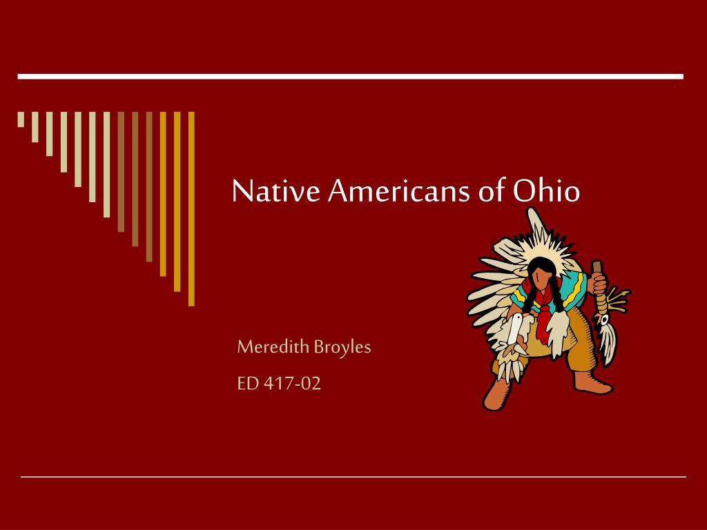 native americans of ohio l.