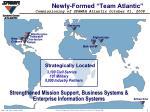 newly formed team atlantic