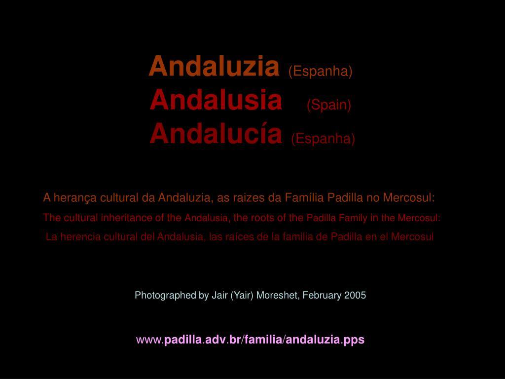 andaluzia espanha andalusia spain andaluc a espanha l.